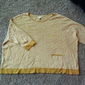 Eileen Fisher Organic Linen Mix top sweater M